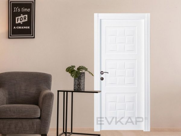 white panel doors