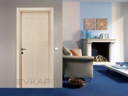 Pvc Series Doors PVC 112 Hus White