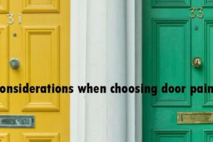 choosing-door-paint