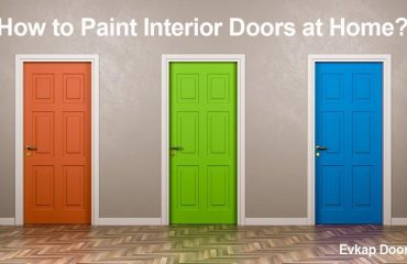how to paint interior doors at home