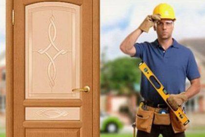 install an interior door