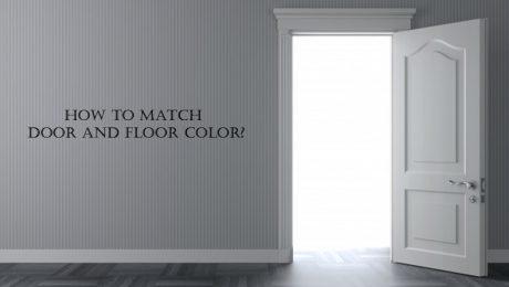 Door and Floor Color Matching